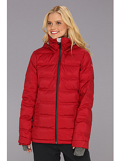 SALE! $119.99 - Save $180 on Roxy Powderpuff Down Jacket (Biking Red) Apparel - 60.00% OFF $299.95