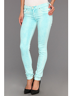 SALE! $128.7 - Save $69 on Hudson Krista Super Skinny Spray Colors (Tahiti Blue) Apparel - 35.00% OFF $198.00