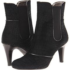 Circa Joan David Hagele (Black Suede) Footwear