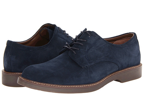 Bass - Pasadena (Navy Suede) Men