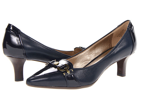 Circa Joan & David - Prvue (Navy Leather/Patent) High Heels