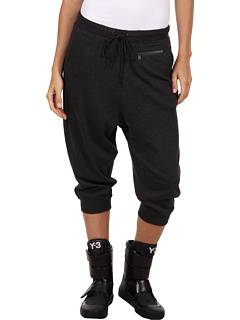 SALE! $186.99 - Save $153 on adidas Y 3 by Yohji Yamamoto Lux FT 7 8 Pant (Ch Melange) Apparel - 45.00% OFF $340.00