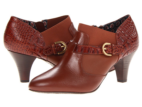 Circa Joan & David - Ciro (Cognac Leather/Croco) Women's Shoes