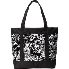SALE! $24.99 - Save $15 on JanSport Emma Tote (White Black Crayon Flower) Bags and Luggage - 37.53% OFF $40.00