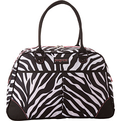 SALE! $34.99 - Save $20 on JanSport Medium Duffel (Black White Fluorescent Pink Miss Zebra) Bags and Luggage - 36.38% OFF $55.00