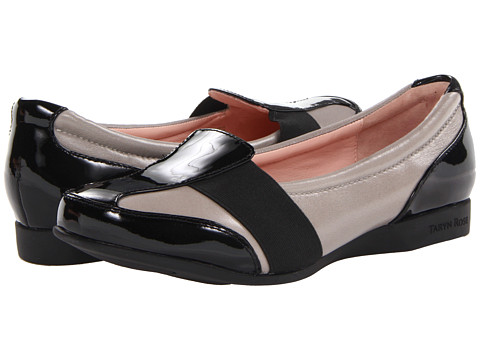 Taryn Rose - Taurus (Soft Grey Soft Nappa) Women's Flat Shoes
