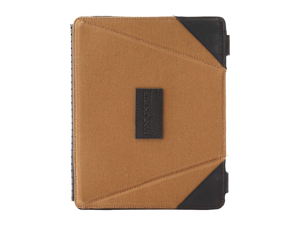 JanSport - 3.0 MagSleeve For iPad (Camel Brown) Computer Bags