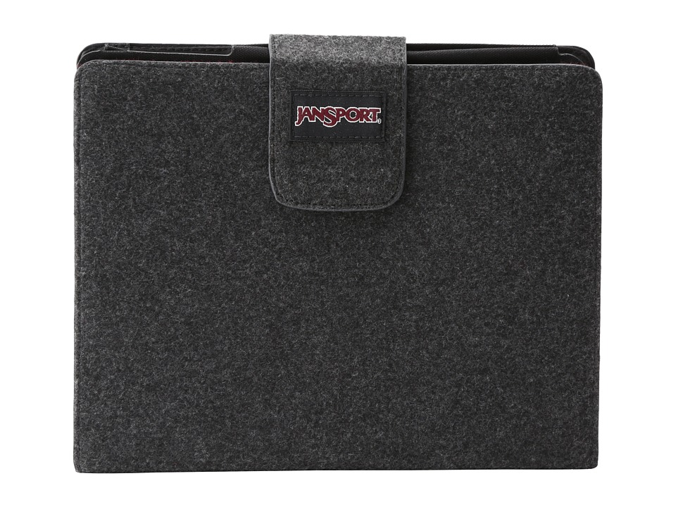 JanSport - 2.0 Folio For iPad(R) (Grey Tar) Wallet