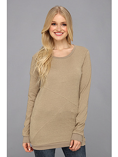 SALE! $21.99 - Save $28 on Volcom Glimmery Crew (Heather Oatmeal) Apparel - 55.58% OFF $49.50