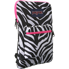 SALE! $19.99 - Save $10 on JanSport Superbreak Sleeve (Black White Fluorescent Pink Miss Zebra) Bags and Luggage - 33.37% OFF $30.00