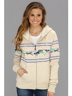 SALE! $34.99 - Save $25 on Volcom Wolf Run Zip Fleece (Moonbeam) Apparel - 41.19% OFF $59.50