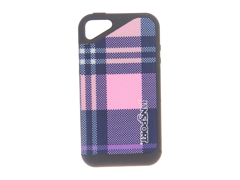 JanSport - Slipcase For iPhone 4 (Pink Pansy Preston Plaid) Cell Phone Case