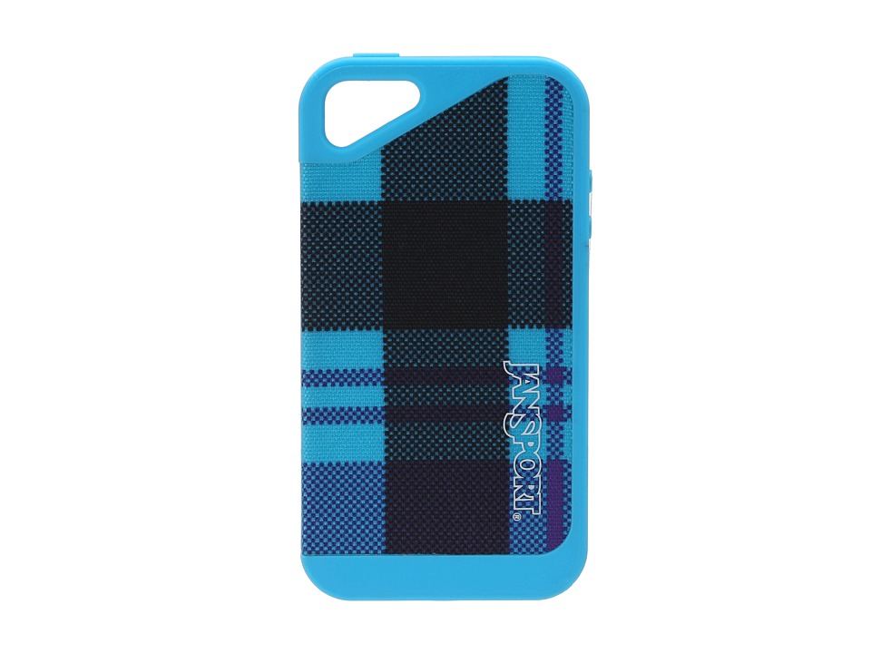JanSport - Slipcase For iPhone 4 (Mammoth Blue Preston Plaid) Cell Phone Case