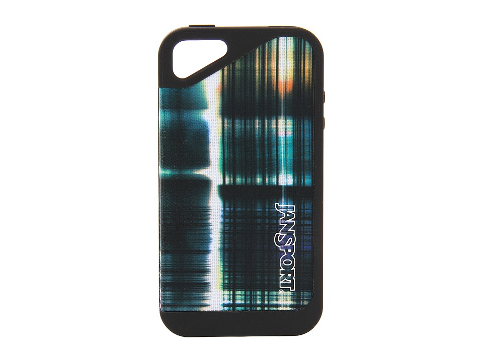 JanSport - Slipcase For iPhone 4 (Black Multi Short Circuit) Cell Phone Case