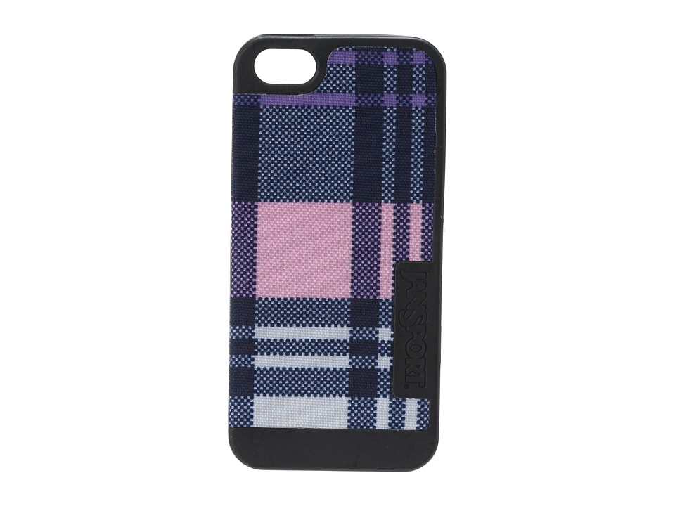 JanSport - Slipcase For iPhone 5 (Pink Pansy Preston Plaid) Wallet