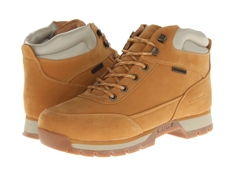 Lugz Scavenger (Golden Wheat/Cream/Gum Thermabuck) Men