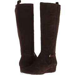 Taryn Rose Fuller (Dark Brown Kid Suede) Footwear