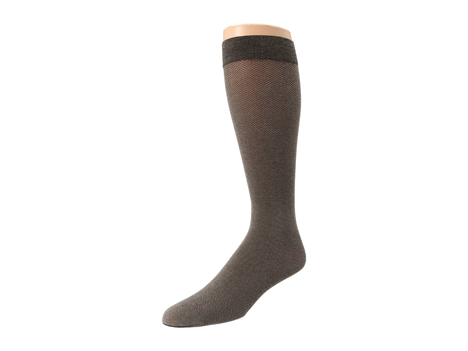 Wolford - Gent Knee-Highs (Almodine/Black) Knee high Hose