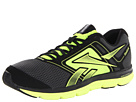 Reebok - Dual Turbo Fire (Gravel/Black/Neon Yellow)