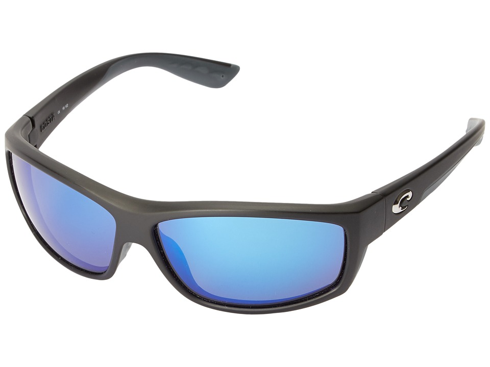 Costa - Saltbreak 580 Mirror Glass (Black/Blue Mirror 580 Glass Lens) Sport Sunglasses
