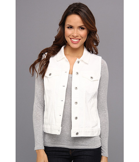 TWO by Vince Camuto - Jean Vest (Ultra White) Women's Vest