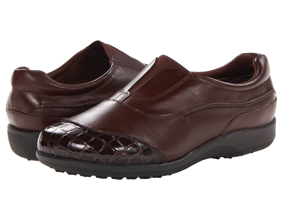 Walking Cradles - Addie (Brown Leather) Women's Shoes