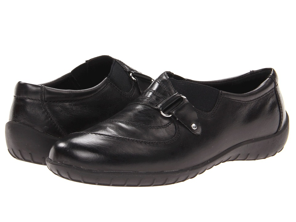 Walking Cradles - Claudia (Black Waxy Soft Leather) Women
