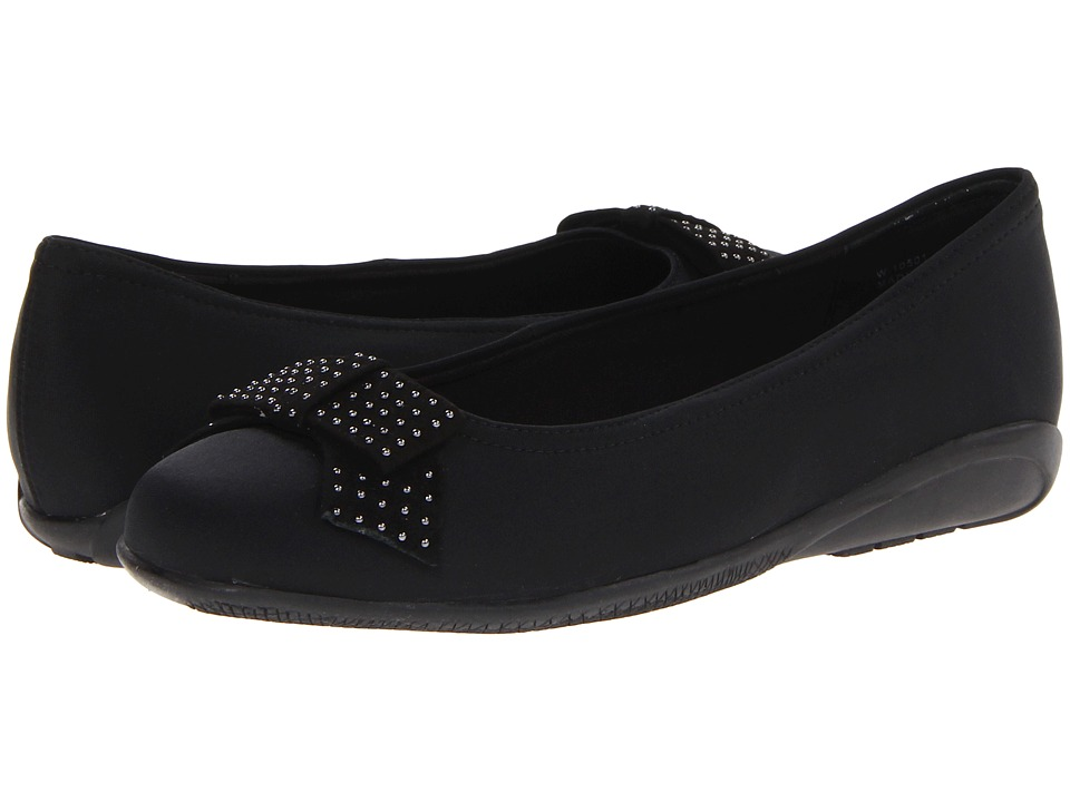 Walking Cradles - Satin (Black Micro) Women's Shoes