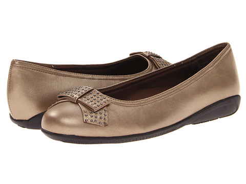 Walking Cradles - Satin (Bronze Leather) Women's Shoes