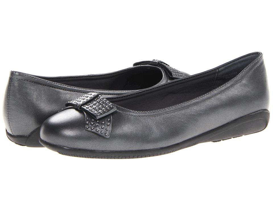 Walking Cradles - Satin (Pewter Leather) Women's Shoes
