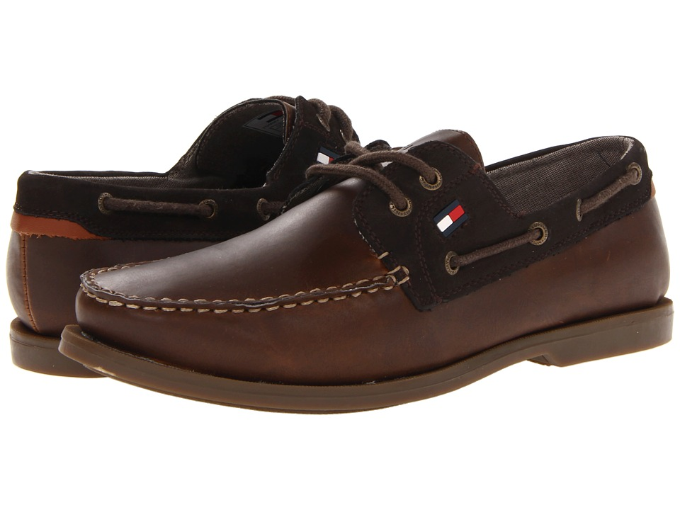Tommy hilfiger sale mens shoes tommy hilfiger aldez brown mens shoes publicscrutiny Choice Image