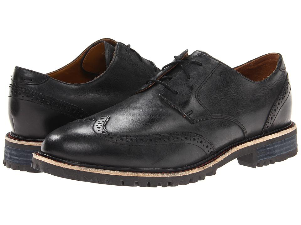 Sebago - Pinehurst Wing (Black) Men's Shoes