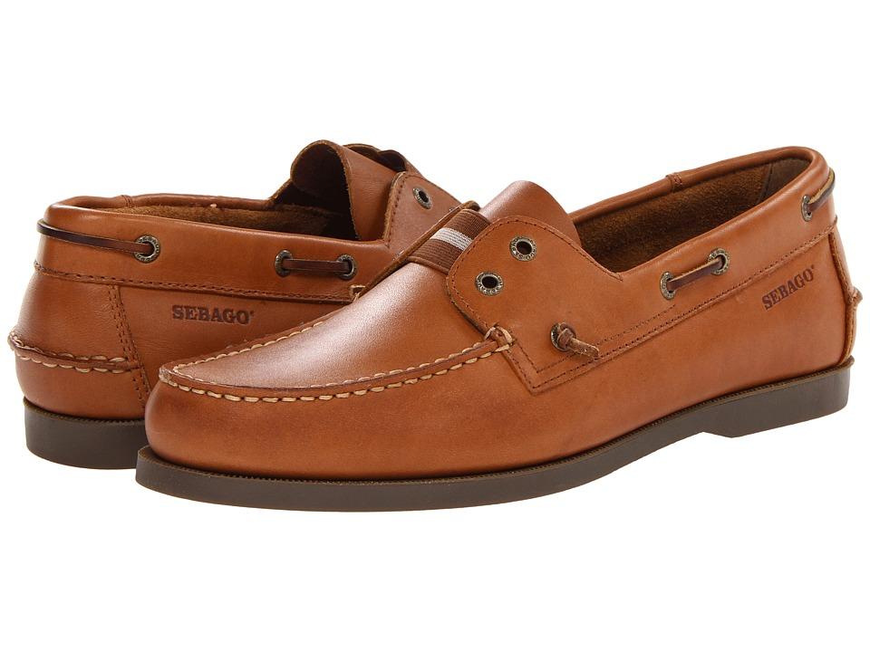 Sebago - Wharf Slip-On (Tan) Men's Slip on Shoes
