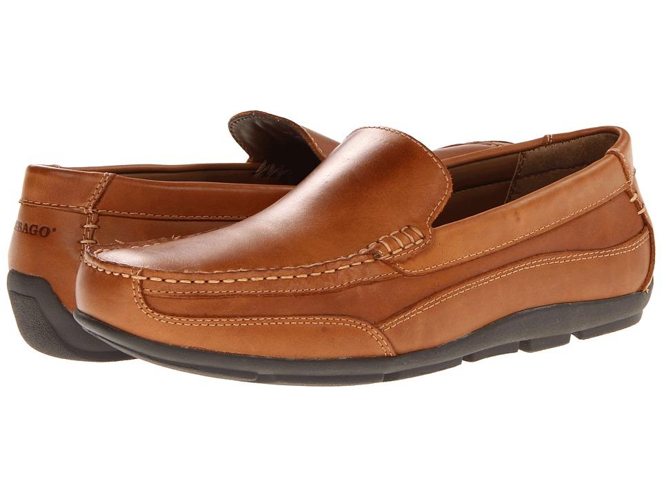 Sebago - Captain (Tan Burnished) Men's Shoes