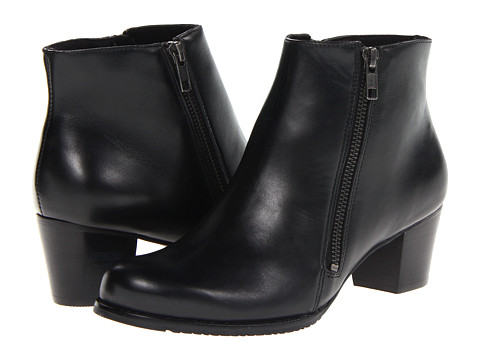 Walking Cradles - Circle 2 (Black Antique Soft Leather) Women's Boots