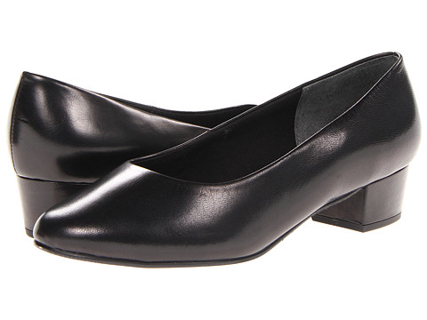 Rose Petals - Emma (Black Kid) Women's Shoes