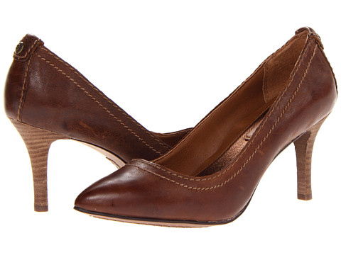 Calvin Klein Jeans - Ryleigh (Med Brown Tumbled Leather) High Heels