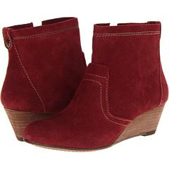 Calvin Klein Jeans Shayla (Wine Suede Warm Grey Tumbled Leather) Footwear