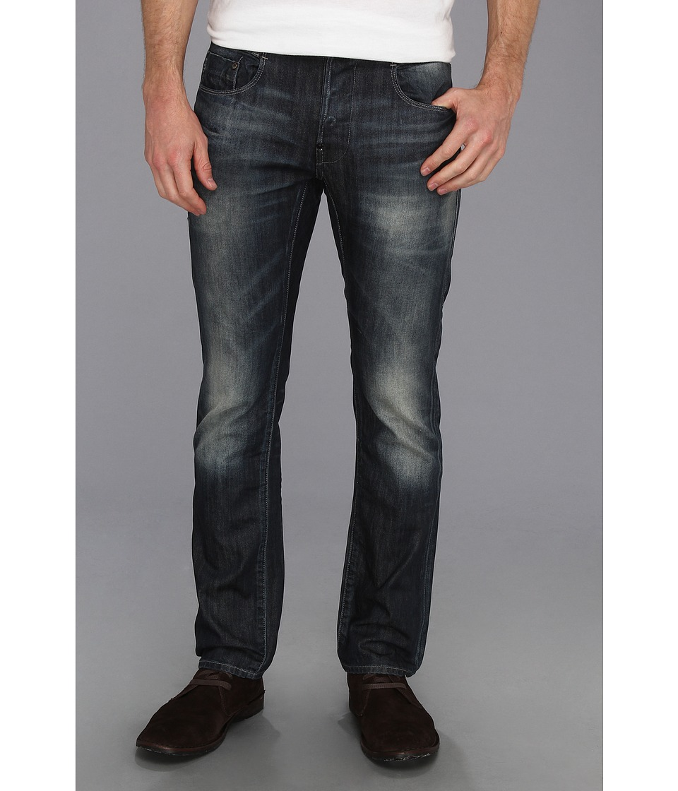 G-Star - New Radar Slim in Memphis Black Blue Dark Aged (Dark Aged) Men's Jeans