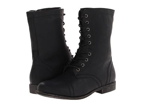 Madden Girl - Gomby (Black) Women's Zip Boots