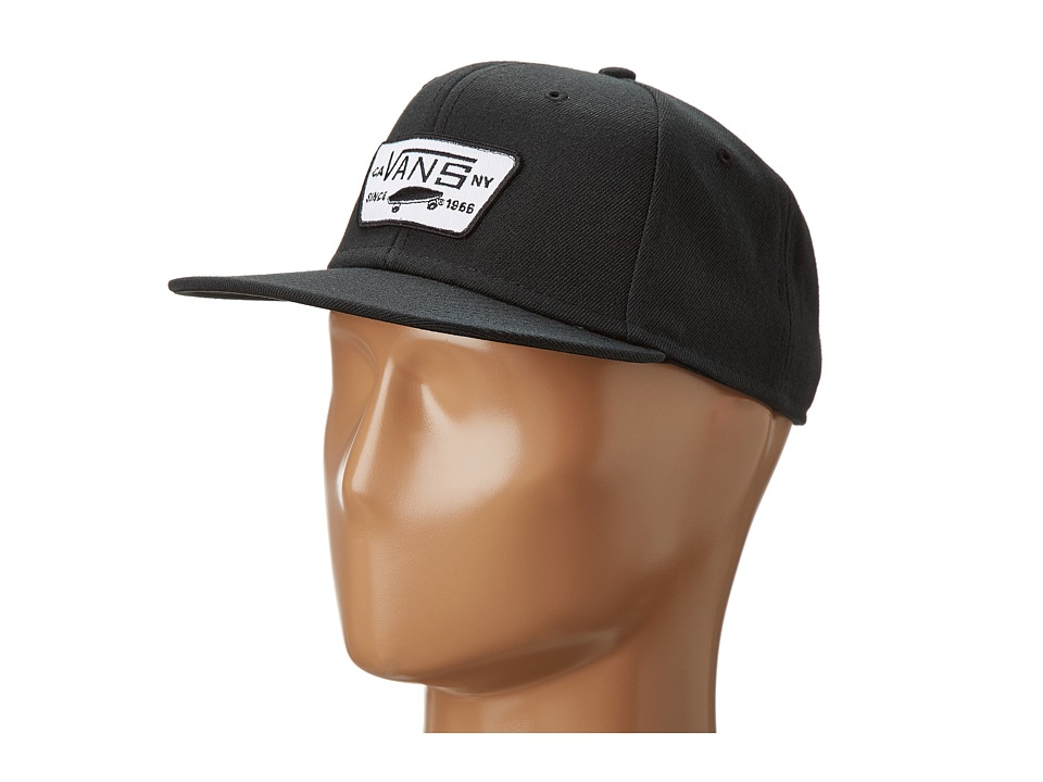 Vans - Full Patch Snapback (True Black) Caps