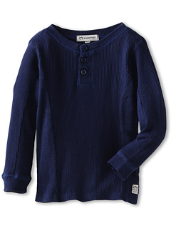 SALE! $16.99 - Save $21 on Appaman Kids Boys` Thermal Henley (Toddler Little Kids Big Kids) (Galaxy) Apparel - 55.29% OFF $38.00