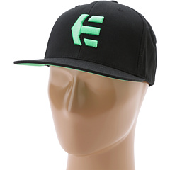 SALE! $16.99 - Save $9 on etnies Icon 6 Hat (Black Black) Hats - 34.65% OFF $26.00