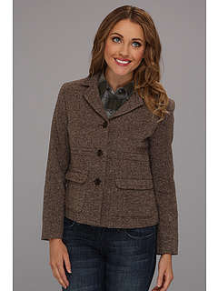 SALE! $74.99 - Save $173 on Pendleton Petite Cambridge Donegal Jacket (Mink Donegal) Apparel - 69.76% OFF $248.00