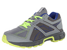 Reebok - Record Finish RS TR Leather (Flat Grey/Rivet Grey/Blue Move/Neon Yellow)