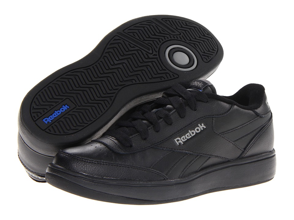 Reebok - Royal Ace (Black/Pure Silver/Rivet Grey/Reebok Royal) Athletic Shoes