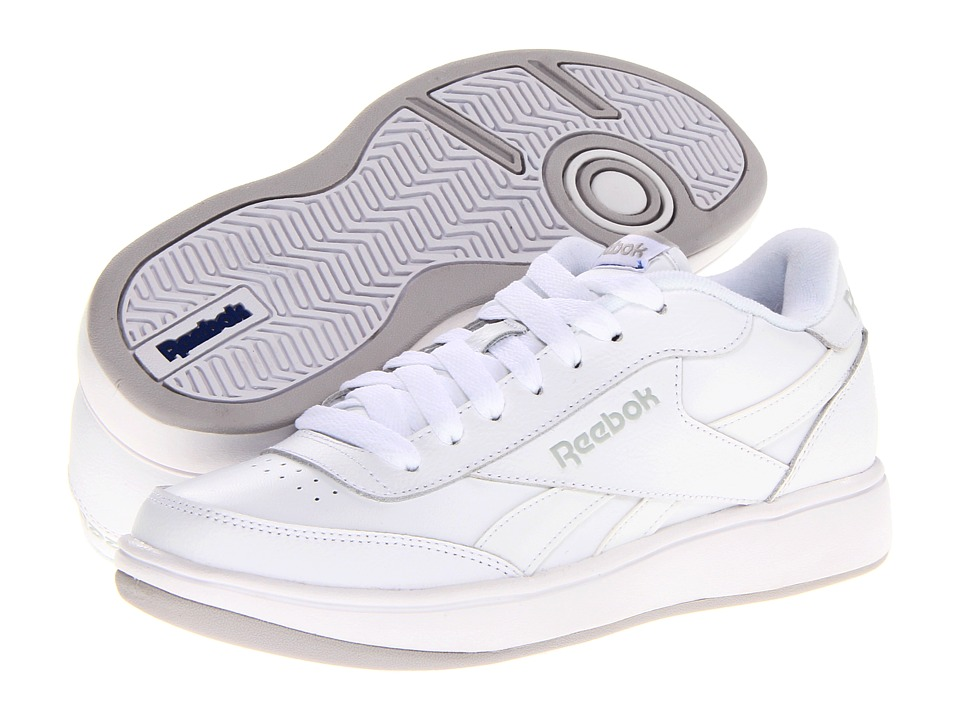 Reebok - Royal Ace (White/Pure Silver/Steel/Reebok Royal) Athletic Shoes