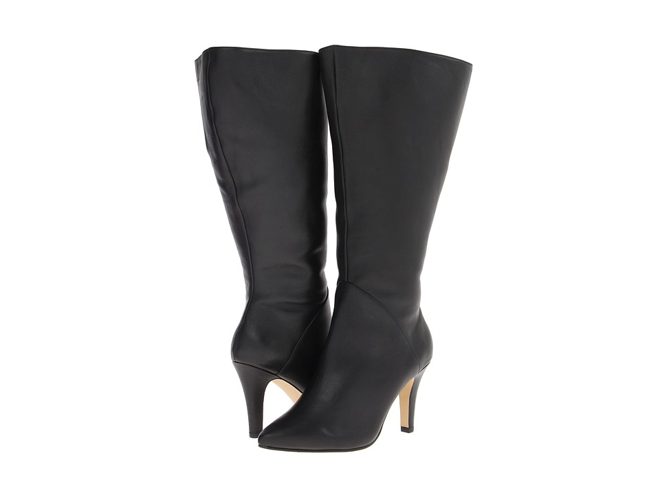 Rose Petals - Portland Extra Wide Shaft (Black Softy Calf) Women's Boots