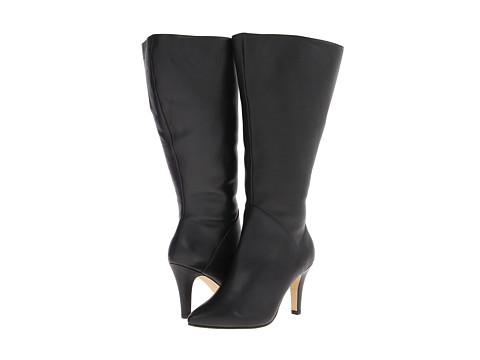 Rose Petals - Portland Extra Wide Shaft (Black Softy Calf) Women's Boots