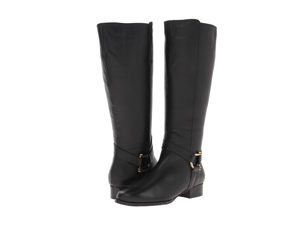 Rose Petals - Atom (Black Softee Calf) Women's Boots